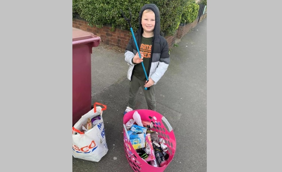 Max litter picking